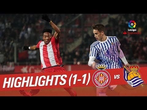 Resumen de Girona FC vs Real Sociedad (1-1)