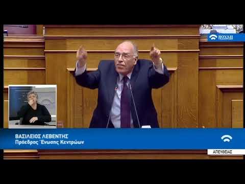 Βασίλης Λεβέντης : Ζητώ τη στήριξη του λαού για δημοψήφισμα μετά τις εκλογές (13-2-2019)