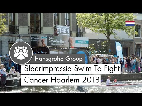 Sfeerimpressie Swim To Fight Cancer Haarlem 2018 - hansgrohe PowderRain