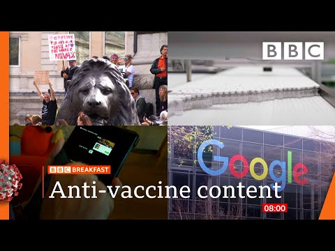Covid: Stop anti-vaccination fake news online with new law says Labour 🔴 @BBC News live – BBC