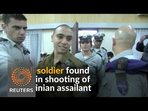 Israeli soldier convicted of manslaughter in Palestinian killing