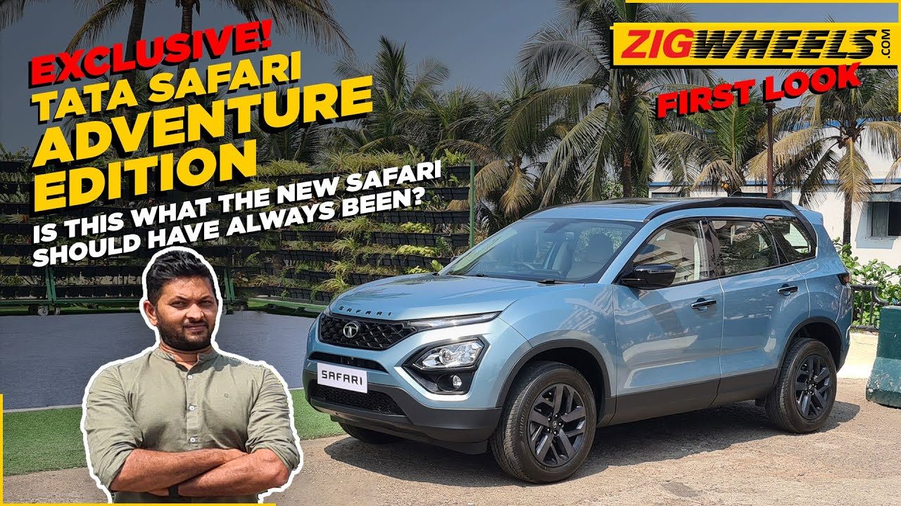2021 Tata Safari Adventure Edition First Look I What's Different?