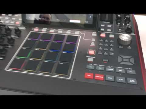Mpc x - First quick look - Top Panel & Q-Links