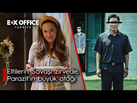 Eltiler 5 milyona doğru, Parazit'in büyük atağı, BKM 100 milyon, Box Office Türkiye'den Haberler #15
