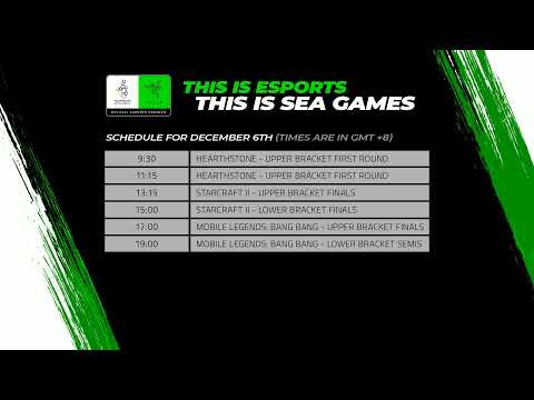 [LIVE NOW] Esports at the SEA Games, Philippines 2019 – Day 2 / December 6