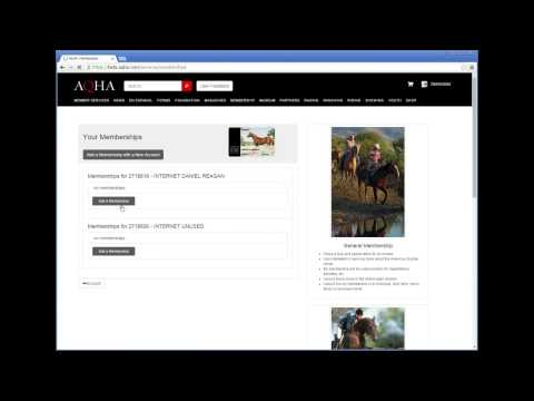 Using AQHA Member Services: Shopping Cart