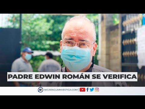 #ENVIVO  El Párroco Edwin Román acude a verificarse