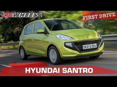 2018 Hyundai Santro Review | Just another hatchback? | ZigWheels.com