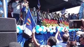 RIMER AGREDA DIO LA BIENVENIDA A TODOS LAS ORGANIZACIONES Y SIMPATIZANTES QUE LLEGARON A COCHABAMBA