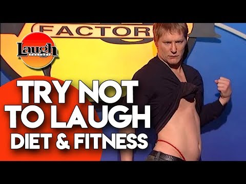 connectYoutube - Try Not To Laugh | Diet & Fitness | Laugh Factory Stand Up Comedy