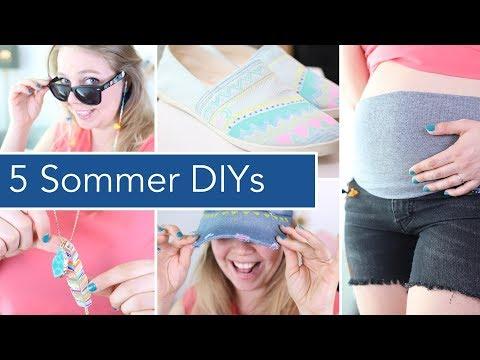 5 Upcycling DIYs für den Sommer & das Festival