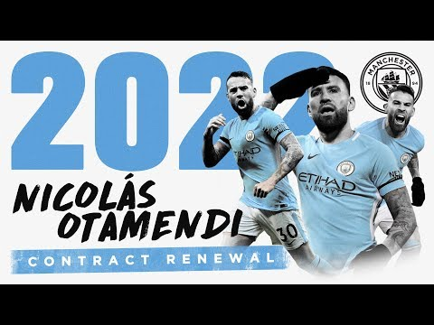 EXCLUSIVE: OTAMENDI SIGNS NEW CONTRACT | 'The General' signs until 2022