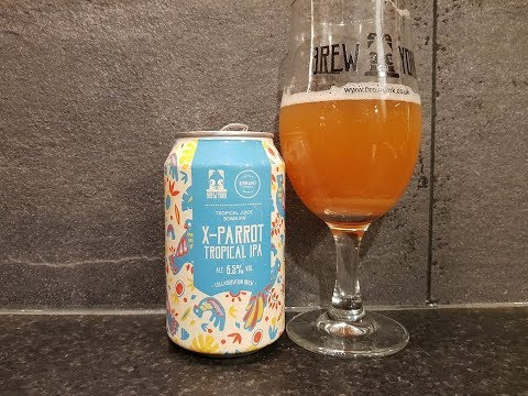 Brew York & Errant Brewery X Parrot Tropical IPA   British Craft Beer Review