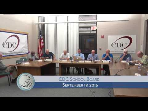 CDC Board - 9/19/16