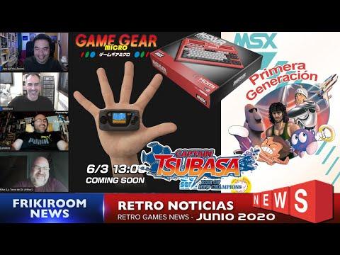 Retro Noticias Junio 2020   Sega, MSX, Captain Tsubasa y mas noticias (Directo)