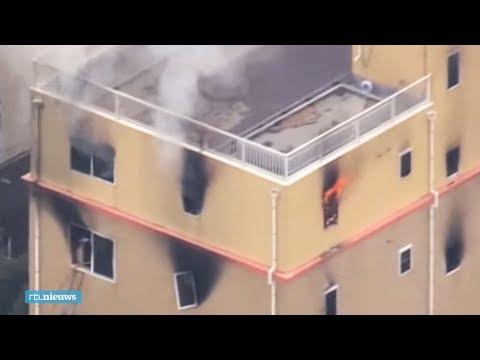 Animatiestudio Japan in vlammen op: 12 doden  - RTL NIEUWS