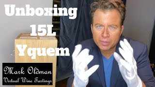 Chateau d'Yquem: Mark Oldman Unboxes 15L Yquem Nebuchadnezzar | Mark Oldman Virtual Wine Tastings