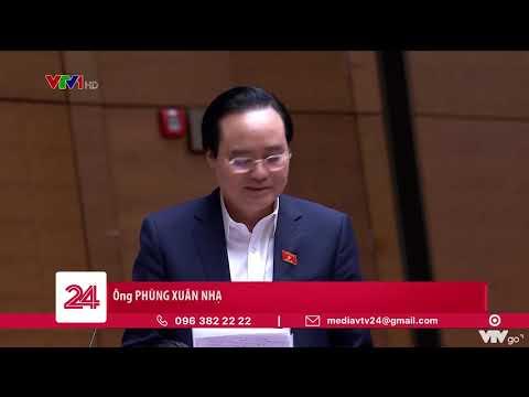 Bộ trưởng Phùng Xuân Nhạ nói về sách Tiếng Việt lớp 1 của Bộ sách Cánh Diều | VTV24