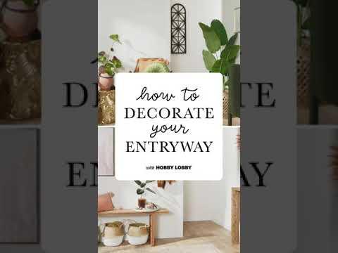 Entryway Decor Tips & Tricks