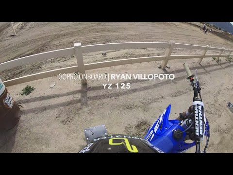 Ryan Villopoto shreds a YZ125 | GoPro Onboard 4K | TransWorld Motocross