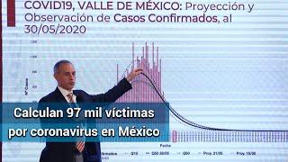 México triplicará cifra de muertes por Covid en agosto, prevén