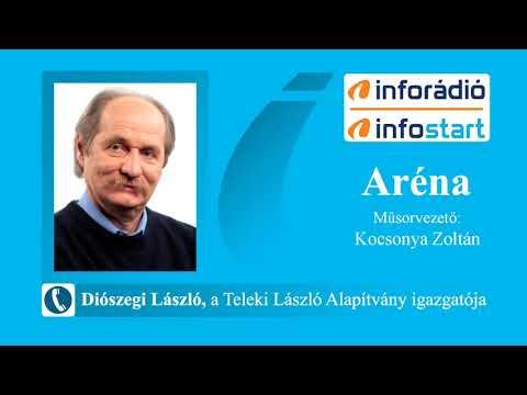 InfoRádió - Aréna - Diószegi László - 2021.08.19.