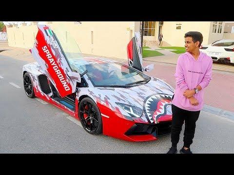 DUBAI'S RICHEST KID NEW CAR !!!