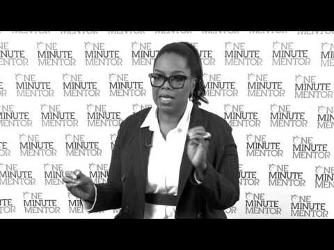 Hearst One Minute Mentor: Oprah Winfrey on Balance