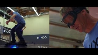 Crave - Watch Tony Hawk do endless 360s on a hoverboard, Ep. 184