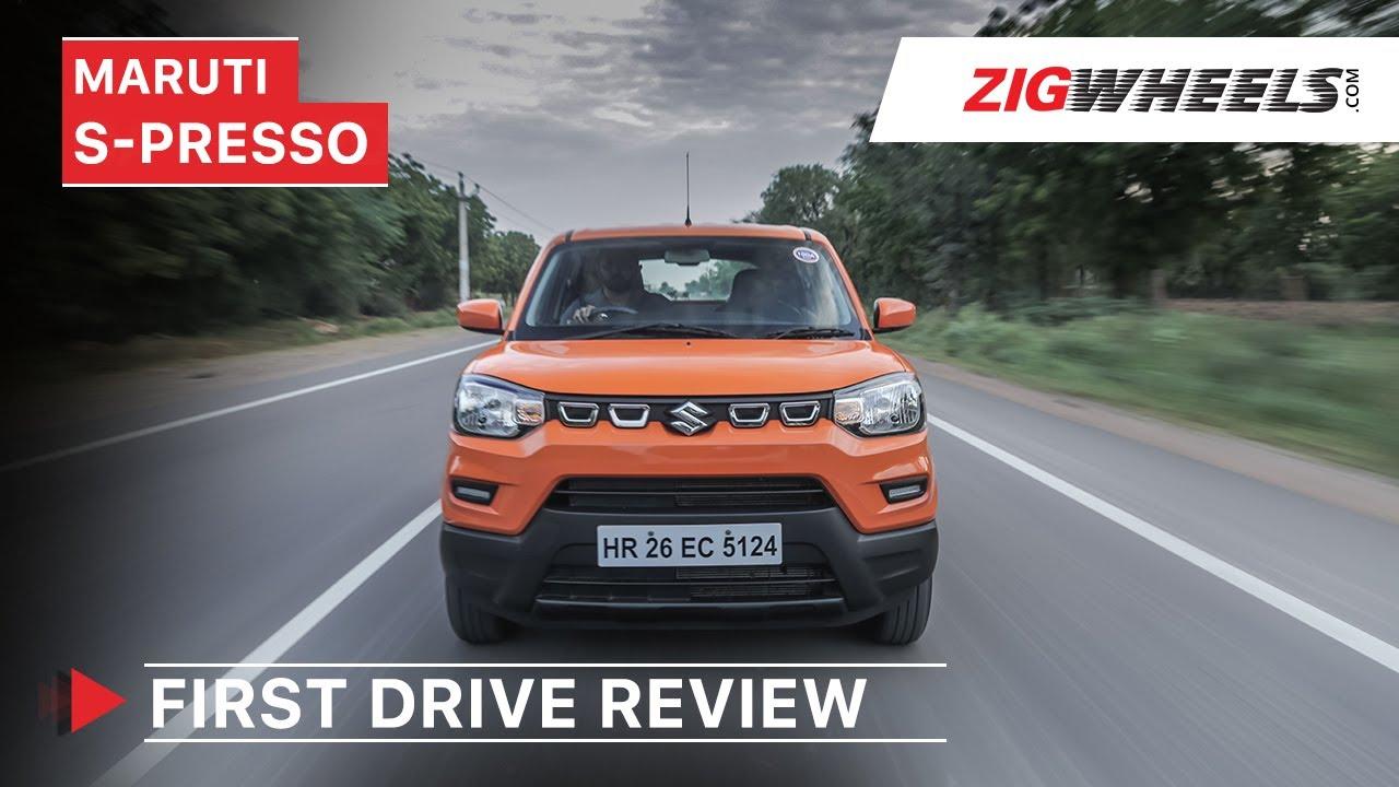 Maruti Suzuki S-Presso First Drive Review | Price, Features, Interior & More | ZigWheels.com