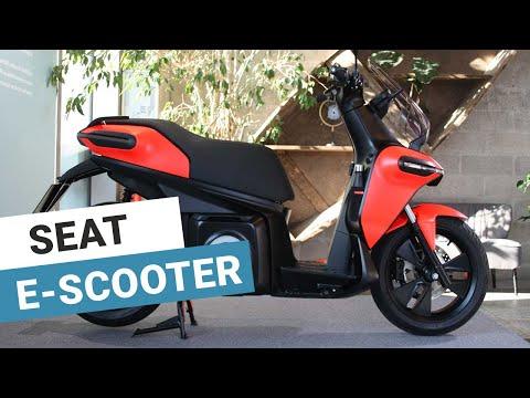 Scooter électrique : découverte du Seat e-Scooter