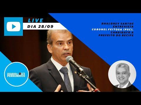 Rhaldney Santos entrevista o candidato à prefeitura do Recife Coronel Feitosa (PSC)