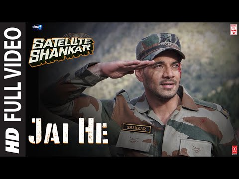 Full Song: Jai He | Satellite Shankar | Sooraj, Megha | Salman A, Sandeep S, Manoj M | 8th Nov