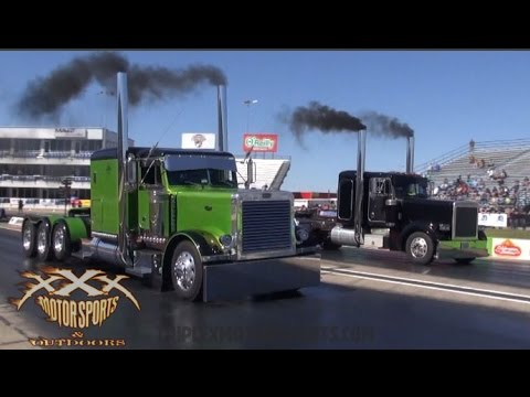 BIG RIG DRAG RACING!! New Flash Game