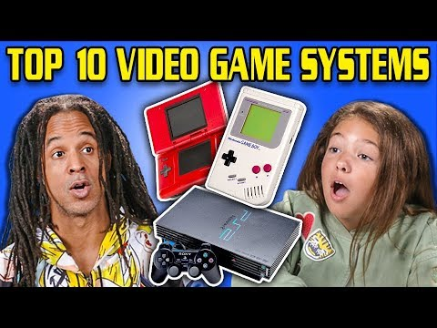 connectYoutube - GENERATIONS REACT TO TOP 10 VIDEO GAME SYSTEMS OF ALL TIME