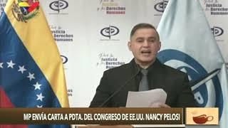 Fiscal General de Venezuela envía carta a Nancy Pelosi sobre Operación Gedeón e incursión del 3/mayo