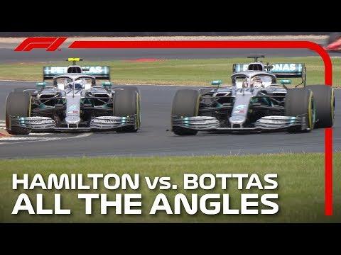 Hamilton And Bottas' Epic Silverstone Battle | 2019 British Grand Prix