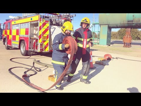 London Luton Airport's Firefighter Challenge