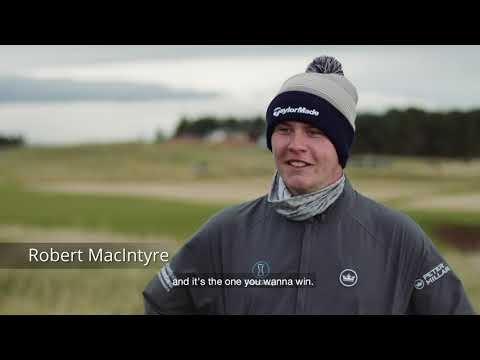 The Aberdeen Standard Investments Scottish Open - a special event.