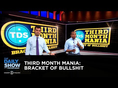 connectYoutube - Third Month Mania: Bracket of Bullshit | The Daily Show