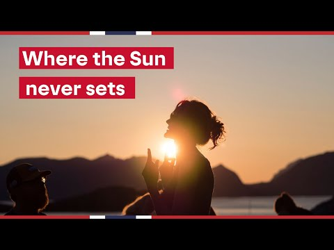 MIDNIGHT SUN LIFE IN NORWAY 🌞