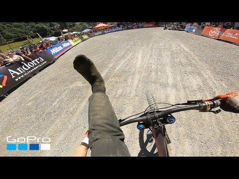 GoPro: Nina Hoffmann's Shoeless Finish — UCI Vallnord 2019