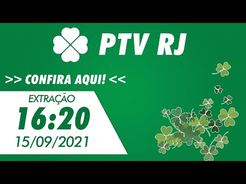 Resultado do Jogo do Bicho PT Rio 16:20 – Resultado da PTV Rio 15/09/2021