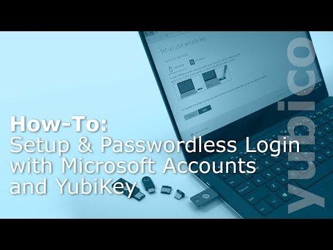 How-To: Go Passwordless with Microsoft Accounts & YubiKey
