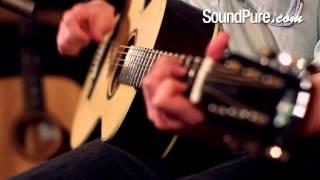 Wes Lambe AAAA Adirondack/Brazilian Rosewood Parlor Acoustic Guitar