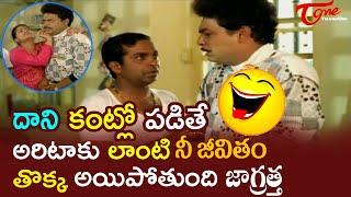 Brahmanandam Comedy Scenes Back To Back | Telugu Comedy Scenes | NavvulaTV - NAVVULATV