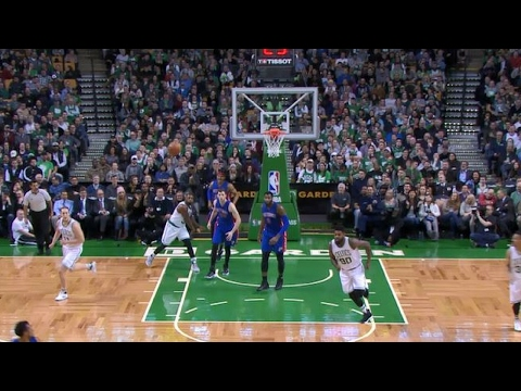 Marcus Smart Finds Jae Crowder for the Touchdown | 01.30.17