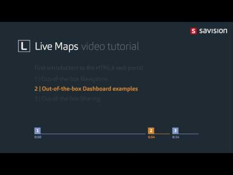 Live Maps   First introduction to the HTML5 web portal