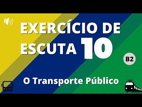 Exercício de escuta #10 - Nível B2 | O Transporte Público | Vou Aprender Português