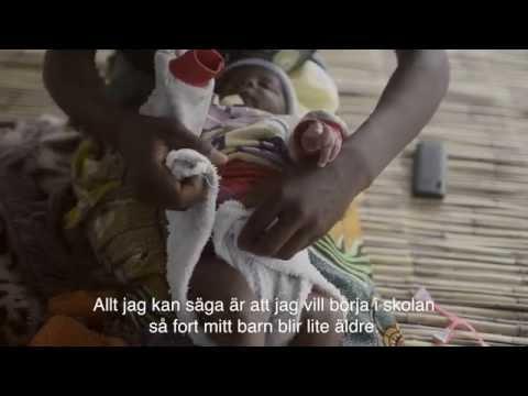 #childmothers, Mulenga Zambia svensk text